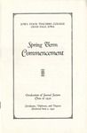 Spring Term Commencement [Program], June 2, 1930