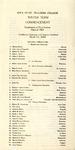Winter Term Commencement [Program], March 11, 1924