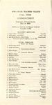 Fall Term Commencement [Program], December 4, 1923