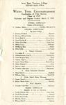 Winter Term Commencement [Program], March 9, 1920
