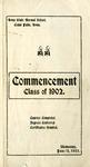 Commencement, June 11, 1902