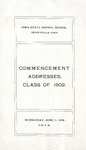 Commencement Addresses, June 11, 1902