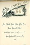 Commencement, 1896