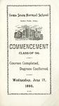 Commencement, June 17, 1896