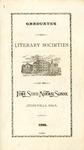 Graduates of Literary Societies of the Iowa State Normal School, 1896
