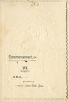 Commencement [Program], 1893