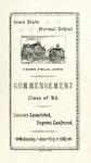 Commencement, June 21, 1893