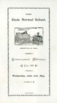 Commencement Addresses, June 21, 1893