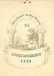 Commencement, 1892