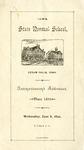 Commencement Addresses, June 8, 1892