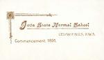 Commencement, 1891