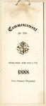Commencement, June 26-27, 1888