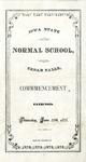 Commencement Exercises, June 27, 1878