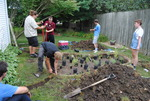 Green Iowa AmeriCorps, Garden Project, Photo 1 by University of Northern Iowa. UNI Conservation Corps.