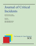 Journal of Critical Incidents, v11, Fall 2018