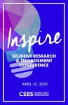 CSBS INSPIRE: Student Research & Engagement Conference [Program] April 15, 2019 by University of Northern Iowa