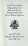 Tenth Annual CSBS Student Research Conference [Program] April 26, 2003