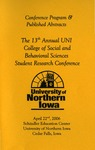 Thirteenth Annual CSBS Student Research Conference Program, April 22, 2006