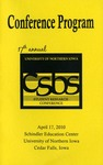 Seventeenth Annual CSBS Student Research Conference Program, April 17, 2010