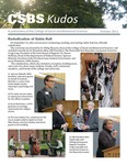 CSBS Kudos, October 2011 by University of Northern Iowa. College of Social and Behavioral Sciences.