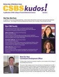 CSBS Kudos, Fall 2012 by University of Northern Iowa. College of Social and Behavioral Sciences.
