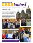 CSBS Kudos, Spring 2013 by University of Northern Iowa. College of Social and Behavioral Sciences.