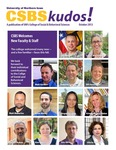 CSBS Kudos, October 2013 by University of Northern Iowa. College of Social and Behavioral Sciences.