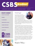 CSBS Kudos, Fall 2017 by University of Northern Iowa. College of Social and Behavioral Sciences.