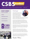 CSBS Kudos, Spring 2018 by University of Northern Iowa. College of Social and Behavioral Sciences.