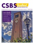 CSBS Kudos, Spring 2020 by University of Northern Iowa. College of Social and Behavioral Sciences.