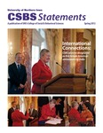 CSBS Statements, v14, Spring 2012 by University of Northern Iowa. College of Social and Behavioral Sciences.
