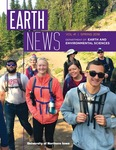 Earth News, v41, Spring 2018 by University of Northern Iowa. Department of Earth and Environmental Sciences.