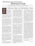 Department of Economics Newsletter, v12, Winter 2005