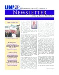 Department of Economics Newsletter, v15, Winter 2009 by University of Northern Iowa. Department of Economics.