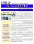 Department of Economics Newsletter, v16, Winter 2010 by University of Northern Iowa. Department of Economics.