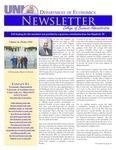Department of Economics Newsletter, v16, Winter 2010