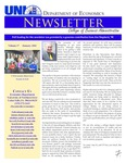 Department of Economics Newsletter, v17, January 2011 by University of Northern Iowa. Department of Economics.