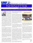 Department of Economics Newsletter, v18, Spring 2013 by University of Northern Iowa. Department of Economics.
