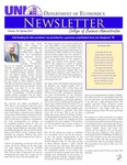 Department of Economics Newsletter, v20, Spring 2015 by University of Northern Iowa. Department of Economics.