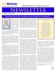 Department of Economics Newsletter, v21, Spring 2016