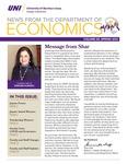 Department of Economics Newsletter, v25, Spring 2021