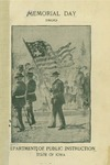 Memorial Day 1899 by Iowa. Dept. of Public Instruction