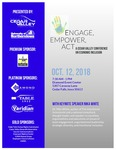 Engage, Empower, Act: A Cedar Valley Conference on Diversity & Inclusion [Program], 2018 by University of Northern Iowa. Center for Multicultural Education.