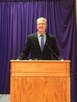 Keynote Speaker - Stephen Black (close up) by University of Northern Iowa.