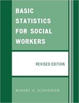 Basic Statistics for Social Workers by Robert A. Schneider