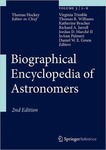 Biographical Encyclopedia of Astromomers by Thomas A. Hockey