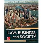 Law, Business and Society by Tony McAdams
