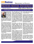 Department of Finance Newsletter, n04, Fall 2015 by University of Northern Iowa. Department of Finance.