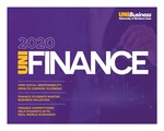Department of Finance Newsletter, 2020 by University of Northern Iowa. Department of Finance.