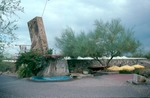 [AZ.242] Frank Lloyd Wright, Taliesin West Sign